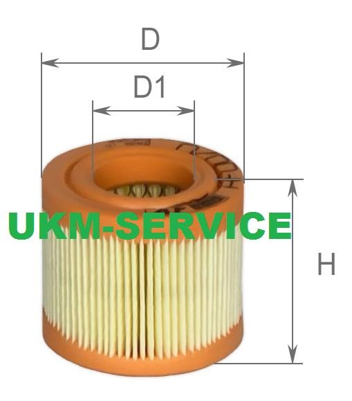 Фильтр воздушный компрессора LB50 LB75