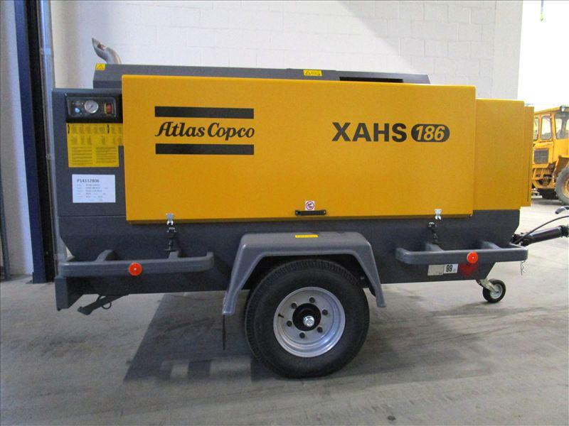 Передвижная компрессорная станция Atlas Copco XAHS 186 Без наработки!