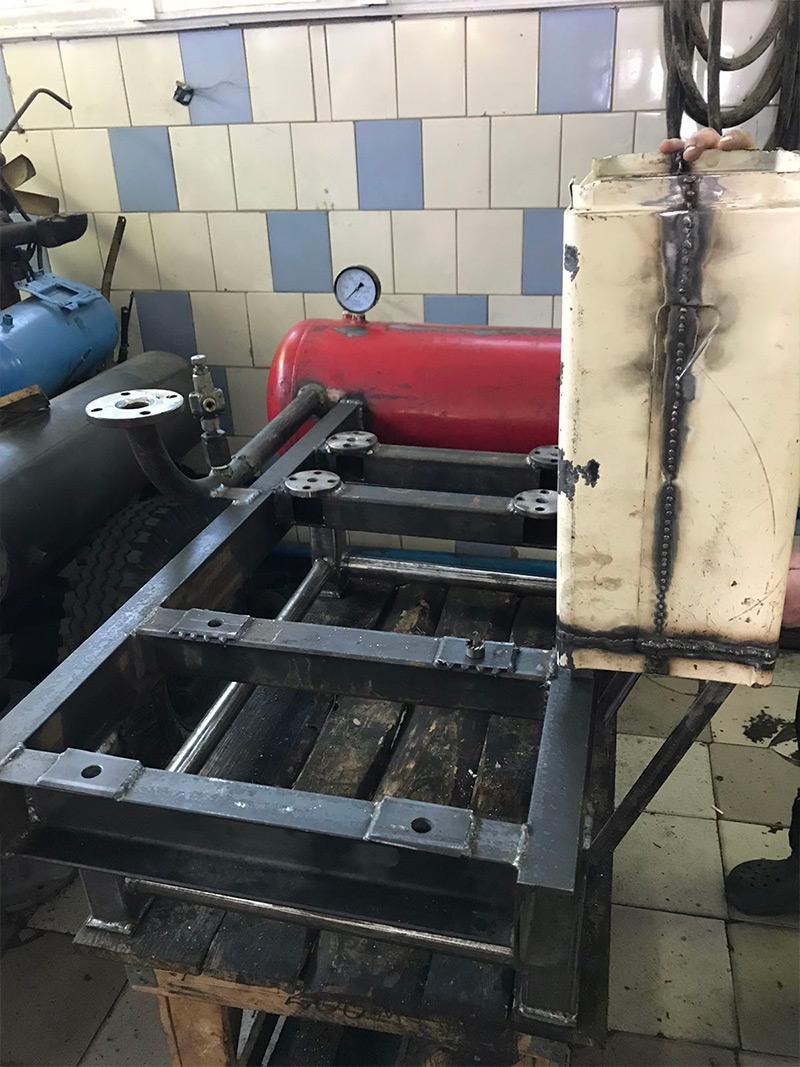 Сборка компрессора ПКС-3,5